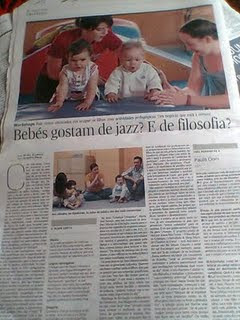 Gymboree no jornal Expresso 1