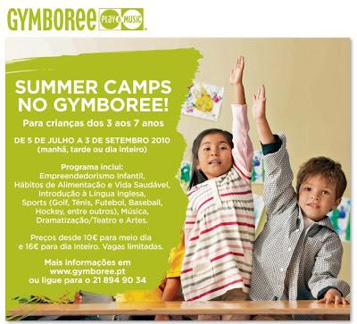 Os Campos de Férias mais divertidos são no Gymboree! 1