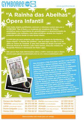 Ópera Infantil: A Rainha das Abelhas 3