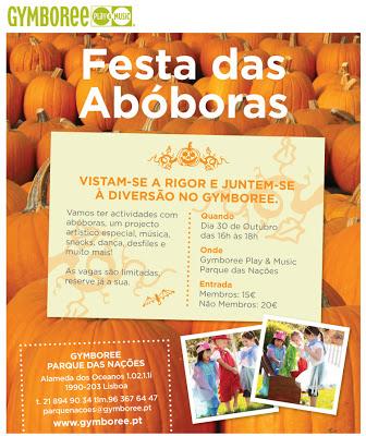 Venha à Festa das Abóboras no Gymboree Parque das Nações 3