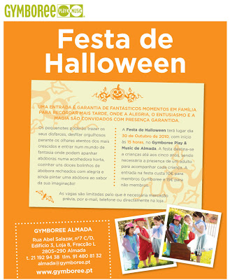 Festa de Halloween no Gymboree Almada 3