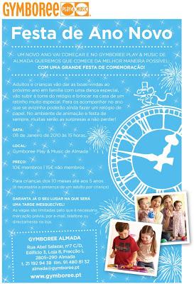Festa de Ano Novo no Gymboree Almada! 1