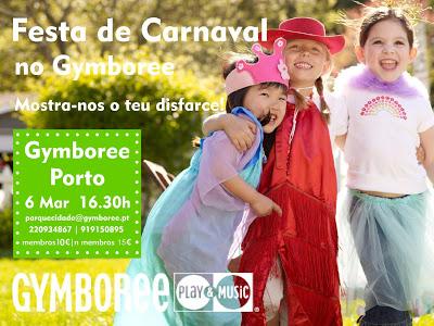 O Carnaval no Gymboree Porto 1