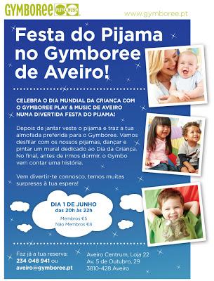 Venha comemorar o Dia da Criança no Gymboree Aveiro! 1