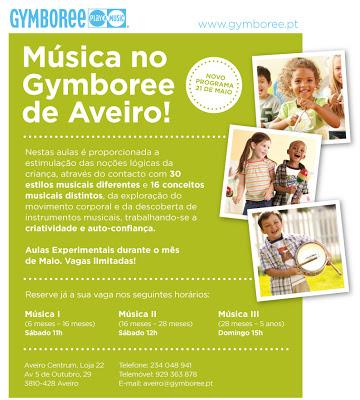 Música no Gymboree de Aveiro! 1