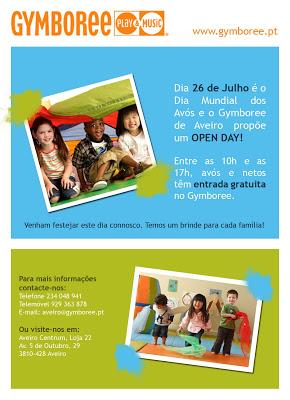 O Gymboree de Aveiro festeja o Dia Mundial dos Avós 1