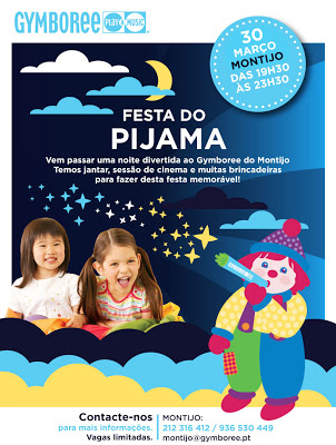 Festa do Pijama no Gymboree Montijo-Alcochete 1