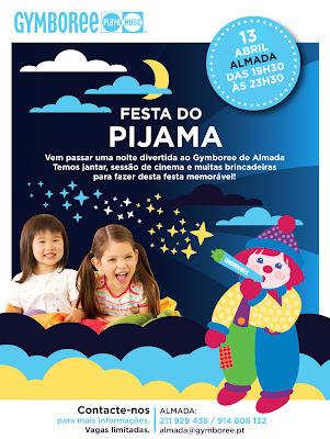 Festa do Pijama no Gymboree Almada 1