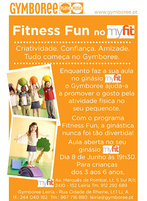 Fitness Fun do Gymboree no ginásio myfit em Leiria! 1