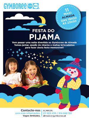 Festa do Pijama no Gymboree Almada, dia 11 de Maio! 1