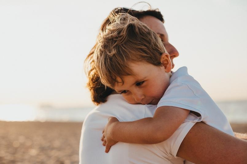 abraço abraços filhos